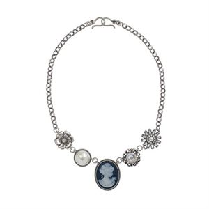 Picture of Cameo Silver Necklace